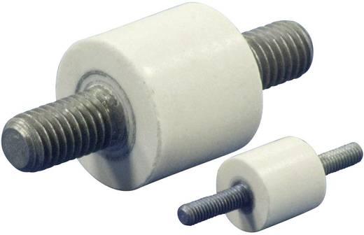 Isolierstützer rund (Ø x H) 20 mm x 18 mm M8 x 20 Polyester, Stahl glasfaserverstärkt, verzinkt C20.18-M8.20-M8.20 1 St.
