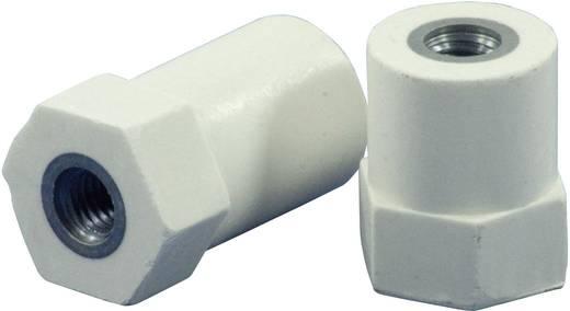 Isolierstützer hexa (Ø x H) 21 mm x 26 mm M8x8 mm Polyester, Stahl glasfaserverstärkt, verzinkt HC21.26-HF8.08CF8.08
