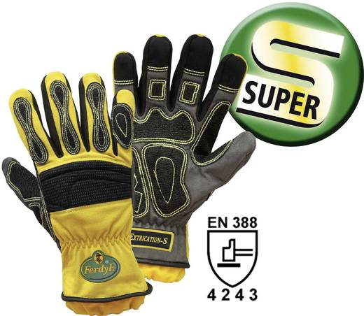 Elasthan Montagehandschuh Größe (Handschuhe): 11, XXL EN 388 CAT II FerdyF. Mechanics Extrication-S 1995S 1 Paar