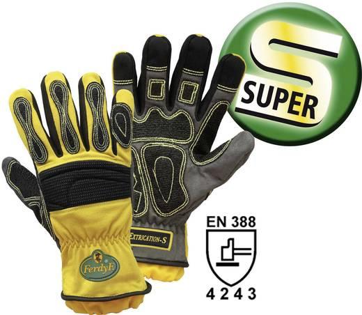 Elasthan Montagehandschuh Größe (Handschuhe): 9, L EN 388 CAT II FerdyF. Mechanics Extrication-S 1995S 1 Paar