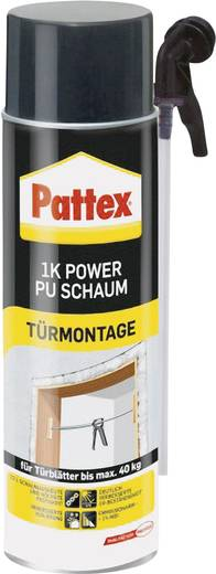 Pattex PU-Schaum Farbe Reinweiß PU50M 500 ml