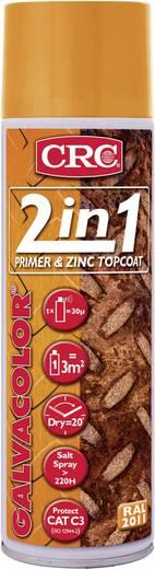 CRC 32170-AA GALVACOLOR Korrosionsschutz-Lack mit Zweifach-Wirkung Tieforange RAL 2011 500 ml