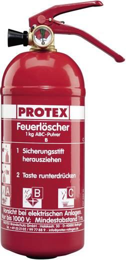Protex Pulverfeuerlöscher PDE1GA mit Fahrzeughalter 13931831 1 kg