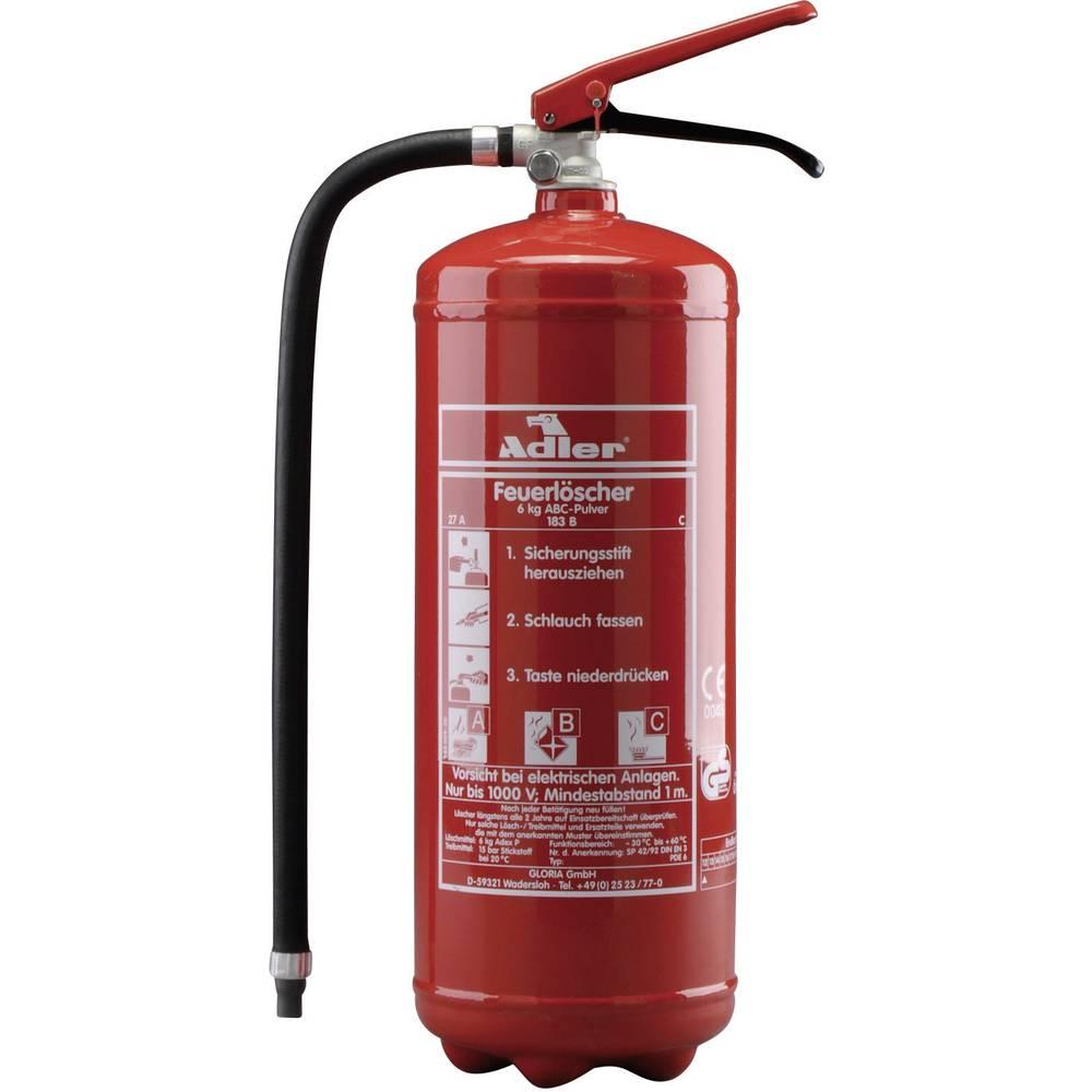 Adler Adler PDE6 Dry Powder Fire Extinguisher (6 kg) 8021011215 from ...