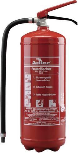 Image of Adler PDE6 8021011215 Pulverfeuerlöscher 6 l Brandklasse: A, B, C 1 St.