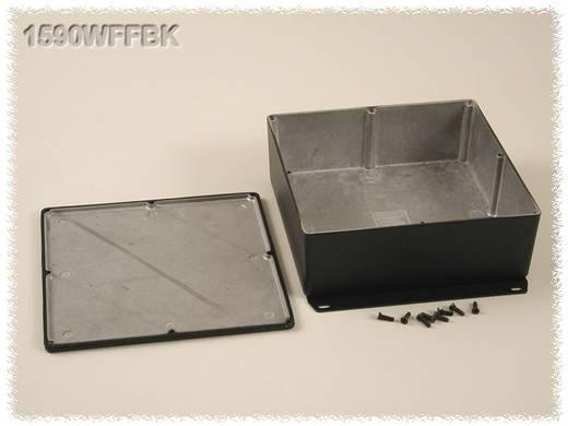 Universal-Gehäuse 187.5 x 187.5 x 67 Aluminium Schwarz Hammond Electronics 1590WFFBK 1 St.
