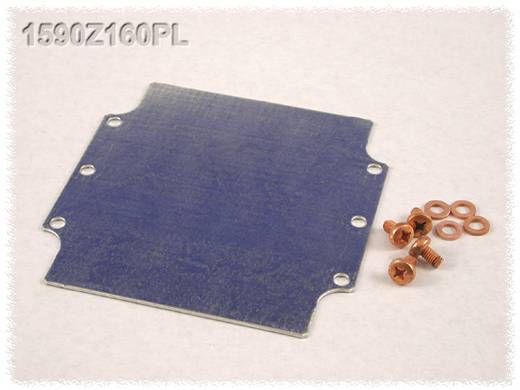 Endplatte Stahlblech Natur Hammond Electronics 1590Z160PL 1 St.