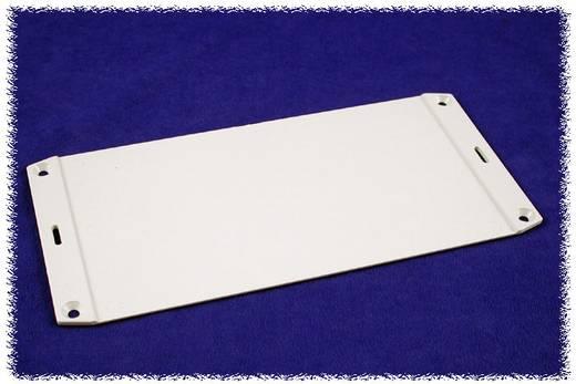 Flanschplatte (L x B) 137 mm x 59 mm ABS Grau Hammond Electronics 1591FBGY 1 St.