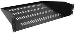 Compartiment ventilé Hammond Electronics RASV190107UBK1 noir (L x l x h) 44 x 483 x 178 mm