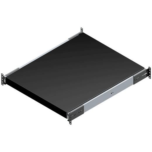 Schubablage geschlossen (L x B x H) 44 x 483 x 660 mm Stahlblech Schwarz Hammond Electronics RSUS1926BK1 1 St.