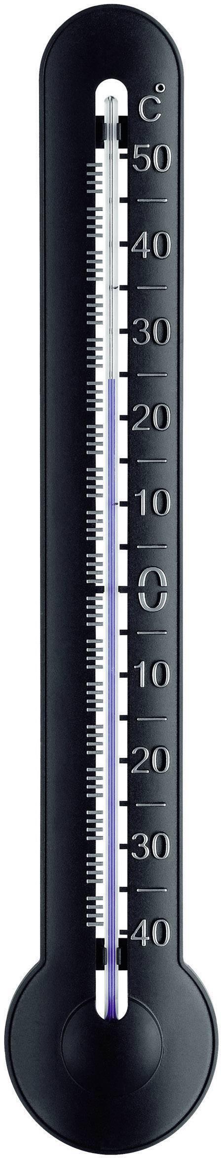 TFA-DOSTMANN Kunststoffthermometer Innen//Aussen Thermometer Temperatur Wetter