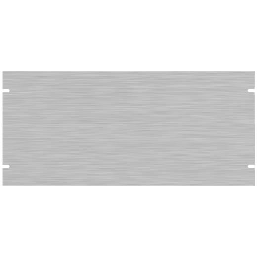 Montageplatte (B x H) 482.6 mm x 221.49 mm Aluminium Natur Hammond Electronics PBPA19008UNF 1 St.