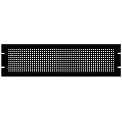 Plaque de montage Hammond Electronics PPFS19008BK2 (L x l x h) 483 x 2 x 222 mm Tôle d'acier noir 1 pc(s)