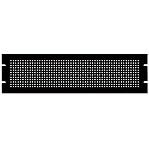 Montageplatte (L x B x H) 483 x 2 x 89 mm Stahlblech Schwarz Hammond Electronics PPFS19003BK2 1 St.