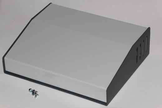 Pult-Gehäuse 157 x 190 x 58 Stahl Grau Hammond Electronics 515-0930 1 St.