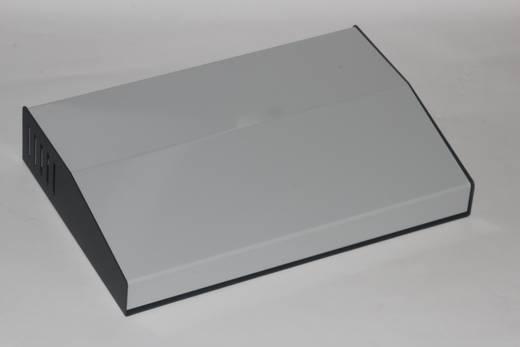 Pult-Gehäuse 201 x 299 x 58 Stahl Grau Hammond Electronics 515-0950 1 St.