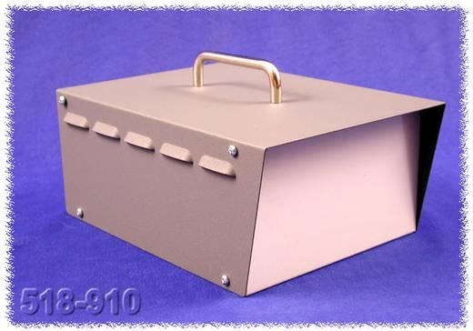 Instrumenten-Gehäuse 248 x 197 x 121 Stahl Grau Hammond Electronics 518-0910 1 St.