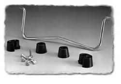Dispositif de maintien Hammond Electronics 1427D5 chrome (L x l x h) 120.55 x 5 x 63.47 mm 1 pc(s)