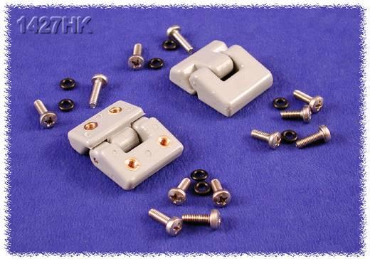 Scharnier Polyester Grau (Ø x H) 35 mm x 15 mm Hammond Electronics 1427HK 1 St.