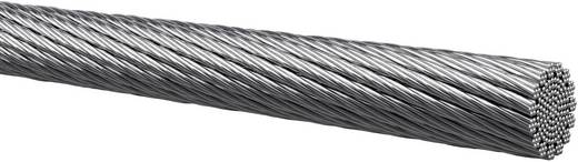 Litze 1 x 0.75 mm² Silber Kabeltronik 401007501 Meterware