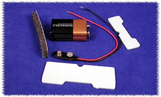 Batteriehalter 1 x 9 V-Block Kunststoff Schwarz Hammond Electronics BS61 1 St.