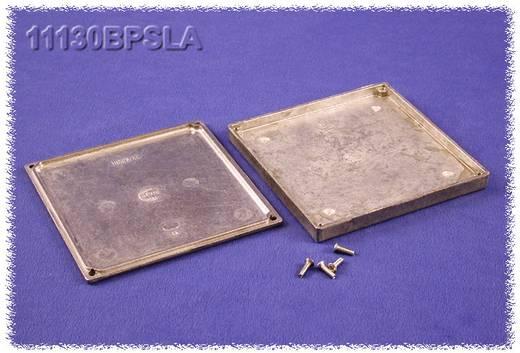 Hammond Electronics 11130BPSLA Universal-Gehäuse 125 x 125 x 16.25 Aluminium Natur 1 St.