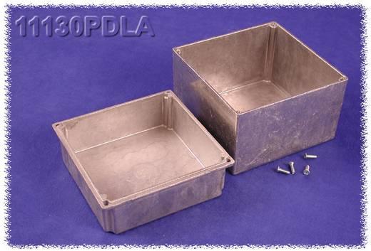 Universal-Gehäuse 125 x 125 x 107.3 Aluminium Natur Hammond Electronics 11130PDLA 1 St.