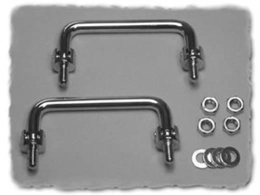 Gehäuse-Griff Silber (L x B x H) 118 x 10 x 47.17 mm Hammond Electronics M286-6 1 St.