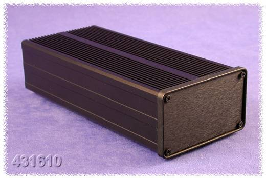 Hammond Electronics 431623 Kühlkörper-Gehäuse 285 x 105 x 60 Aluminium Schwarz 1 St.