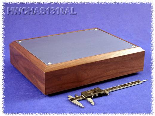 Bodenplatte 330 x 254 x 76 Aluminium Natur Hammond Electronics HWCHAS1310AL 1 St.