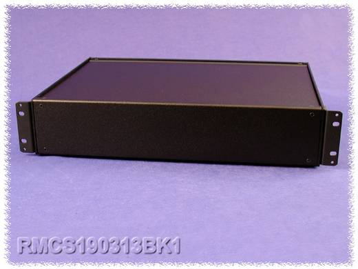 Universal-Gehäuse 432 x 330 x 21 Aluminium Schwarz Hammond Electronics RMCS190113BK1 1 St.