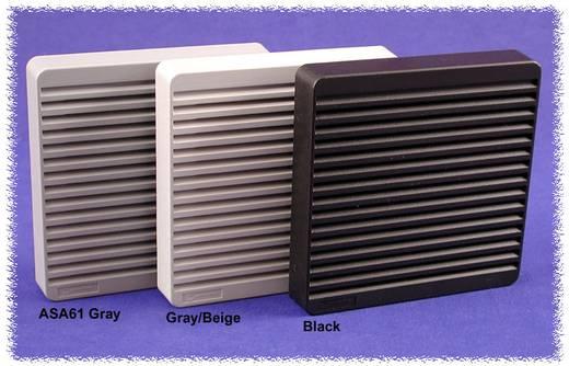 Luftfilterset ABS Grau (L x B x H) 105 mm x 105 m x 16 mm Hammond Electronics XPFA80GY 1 St.