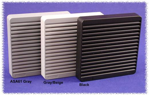 Luftfilterset ABS Schwarz (L x B x H) 150 x 150 x 15 mm Hammond Electronics XPFA80BK 1 St.
