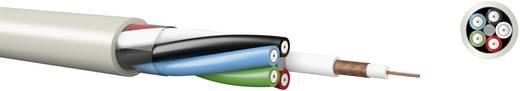 Koaxialkabel Außen-Durchmesser: 9.10 mm 75 Ω Beige Kabeltronik 845750000 Meterware