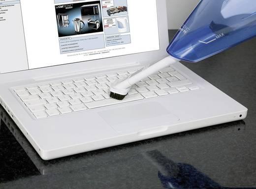 Akku-Handstaubsauger Clatronic Akkusauger Nass/Trocken 3.6 V Blau, Weiß