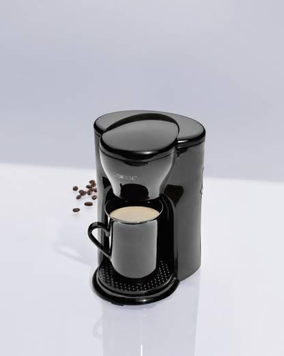 Kaffeemaschine Clatronic 1-Tassen-Kaffee-Automat Schwarz Fassungsvermögen Tassen=1
