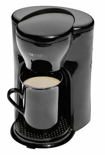 Kaffeemaschine Clatronic KA 3356 Schwarz Fassungsvermögen Tassen=1