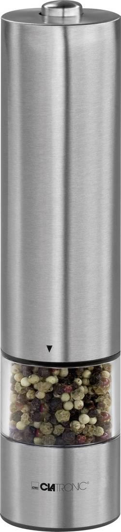 Elektrický mlýnek na sůl a pepř Clatronic PSM 3004 N, nerez