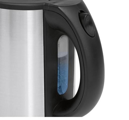 Wasserkocher schnurlos Clatronic WKS 3381 Edelstahl (gebürstet)