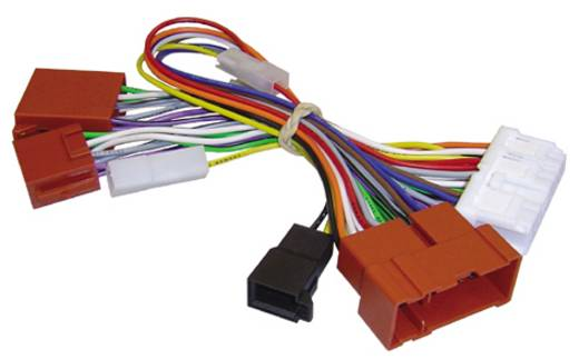 ISO Radioadapterkabel Aktiv AIV Passend für: Nissan