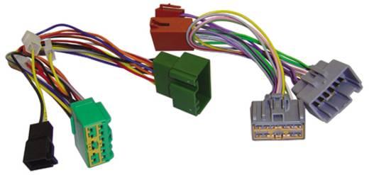 ISO Radioadapterkabel Aktiv AIV Passend für: Volvo
