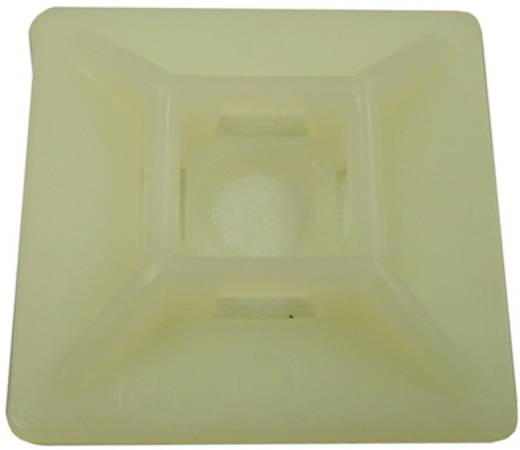 Befestigungssockel selbstklebend Weiß AIV 530779 5 St.