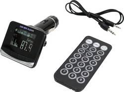 FM vysílač do autorádia se slotem pro SD/MMC kartu, AIV 64C287