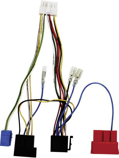 ISO Radioadapterkabel Aktiv AIV Passend für: Alfa Romeo, Fiat, Lancia