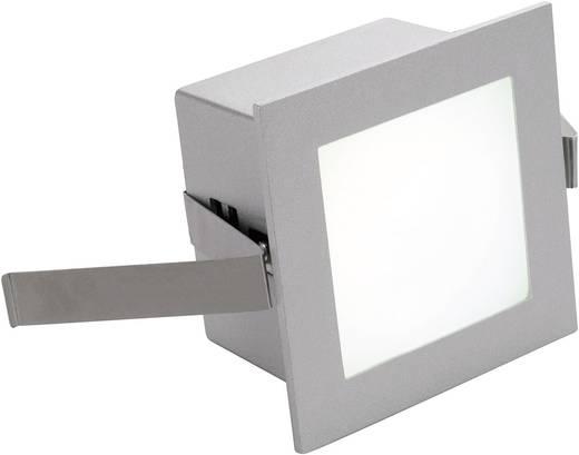 LED-Einbauleuchte 1 W Warm-Weiß SLV Frame Basic 111262 Silber-Grau