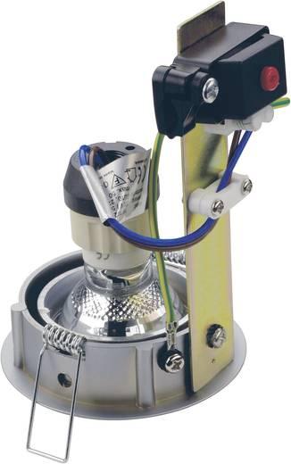 Einbauring Halogen GU10 50 W SLV 116119 SP Turno Silber-Grau