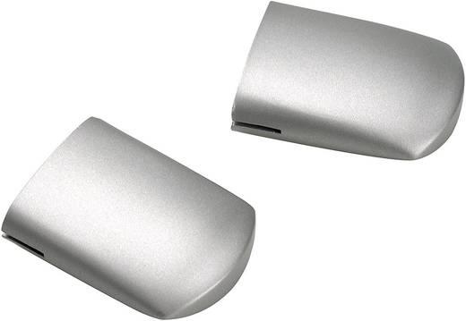 Niedervolt-Schienensystem-Komponente Endkappe 2er Set SLV Linux Light Silber 138280 Silber-Grau