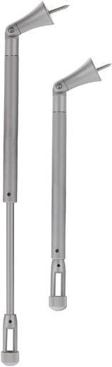 Niedervolt-Schienensystem-Komponente Deckenabhängung SLV Linux Light Silber 138432 Silber-Grau