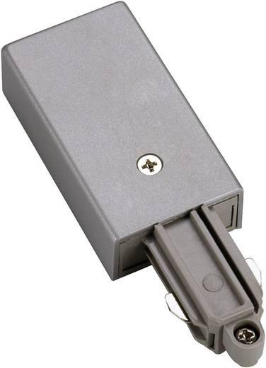 Hochvolt-Schienensystem-Komponente Einspeiser SLV 1phasig 143042 Silber-Grau