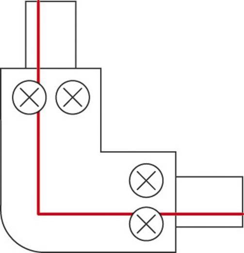 Hochvolt-Schienensystem-Komponente Eckverbinder SLV 1phasig 143052 Silber